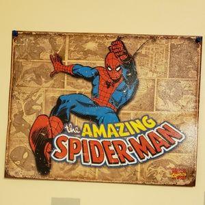 no brand Wall Art - 8 Superhero Tins